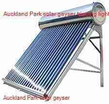 Auckland Park solar geyser