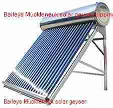 Baileys Muckleneuk solar geyser