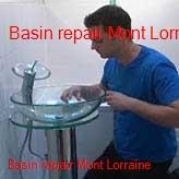 Basin repairs in Mont Lorraine