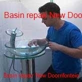 Basin repairs in New Doornfontein