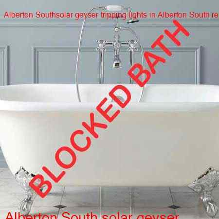 Alberton South blocked bath cleared by certified plumbers with a free call out fee in Alberton South and surrounding suburbs to in Alberton.