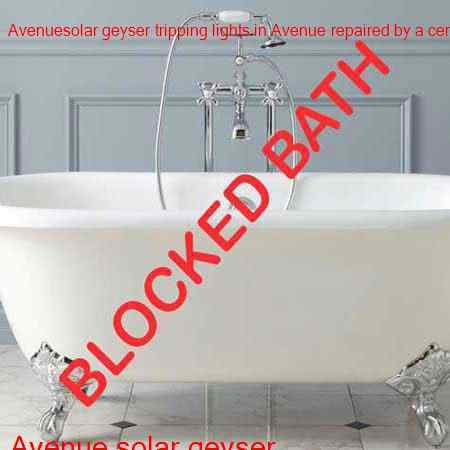 Avenue blocked bath cleared in no time with a free call out in Avenue and surrounding areas of Benoni.