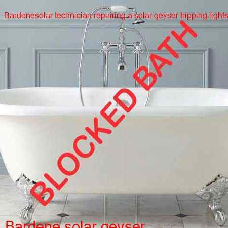 Bardene blocked bath cleared by certified plumbers with a free call out fee in Bardene and surrounding suburbs to in Boksburg.