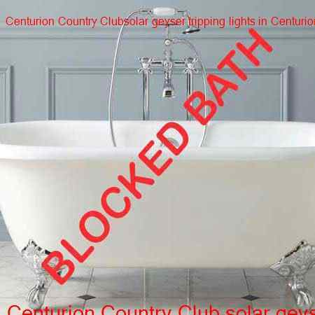 Centurion Country Club blocked bath