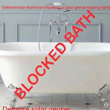 Delmore blocked bath