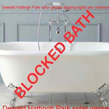 Dewald Hattingh Park blocked bath
