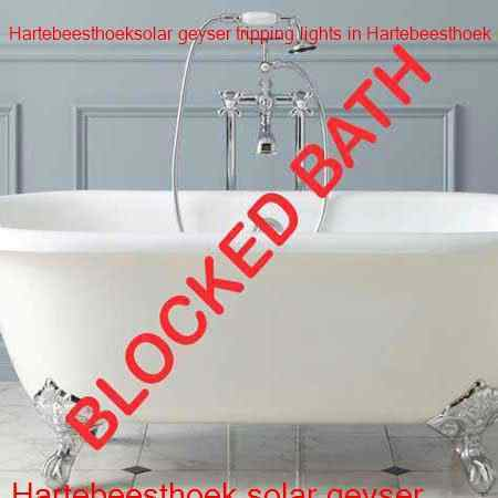 Hartebeesthoek blocked bath