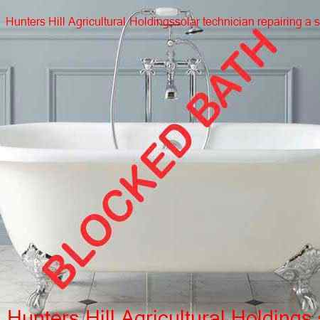 Hunters Hill Agricultural Holdings blocked bath