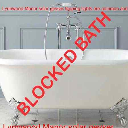 Lynnwood Manor blocked bath