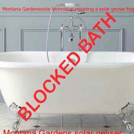 Montana Gardens blocked bath