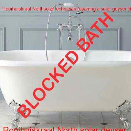 Rooihuiskraal North blocked bath