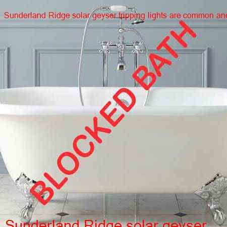 Sunderland Ridge blocked bath