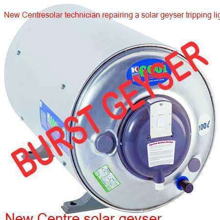 New Centre burst geyser
