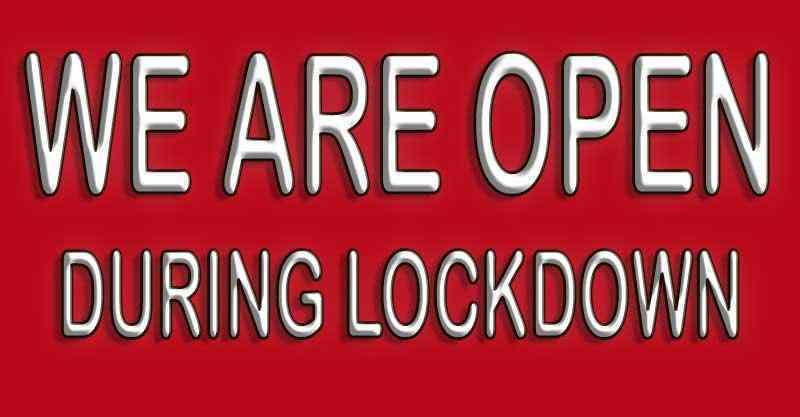 Lakefield plumbers are open during the lockdown period