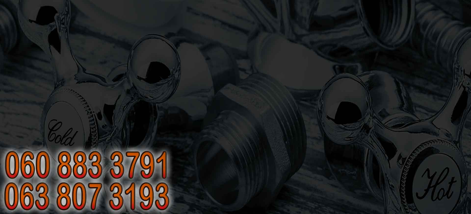 This is the Header image for 24/7 Benoni West Plumbers.