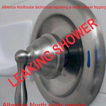 Alberton North leaking shower