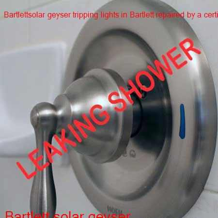 Bartlett leaking shower repair in Boksburg with a free quote and call out fee.