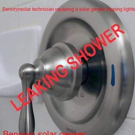 Benoryn leaking shower fixed by a qualified and certified plumber with a free call out fee in Benoni.