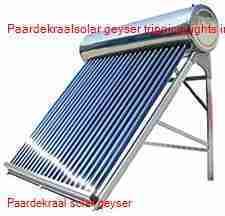 Paardekraal solar geyser