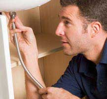Plumber working in the Brackendowns area