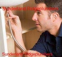 Plumber working in the Sunderland Ridge area
