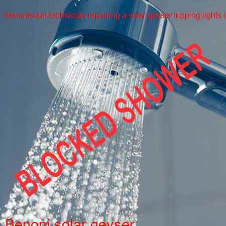 Benoni blocked shower cleaned under an hour with a free call out fee in East Rand and surrounding areas in Gauteng.